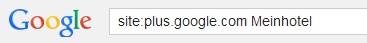 Einfach mal bei Google nach sich selber suchen