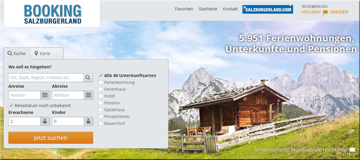 """Holiday Insider als """"white label"""" im Salzburger Land Gewand"""