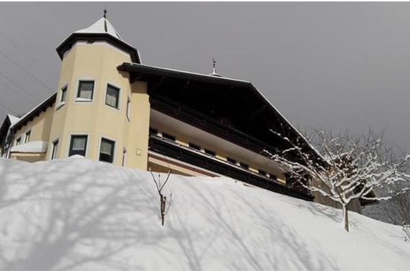 Unvorteilhafte Perspektive - Gästehaus wirkt bedrohlich und unnahbar