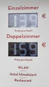 Dynamische Preise – Zimmerpreise wie die Spritpreis-Anzeige an der Tankstelle