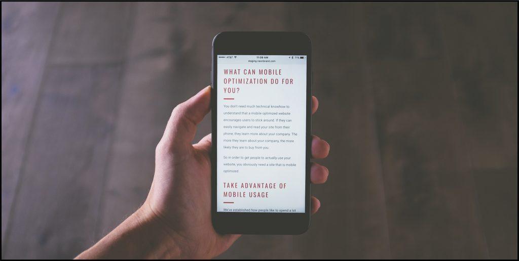 Ist die Hotelwebseite für mobile Geräte optimiert?