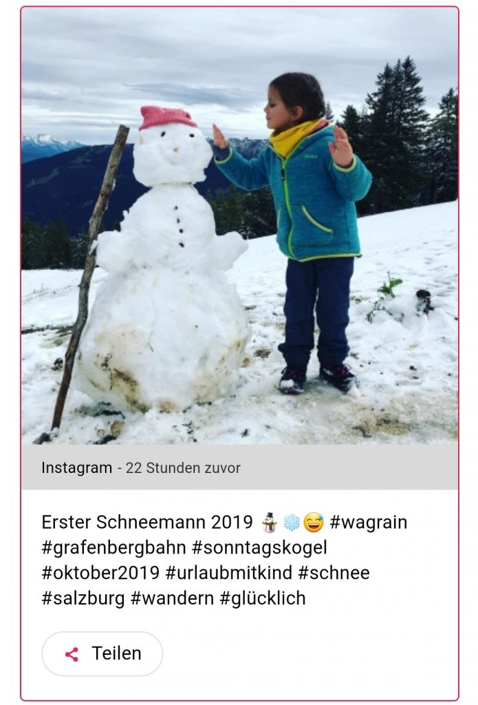 Süß, aber heikel – Kinderfotos auf Social Media. Das Web vergisst nicht.