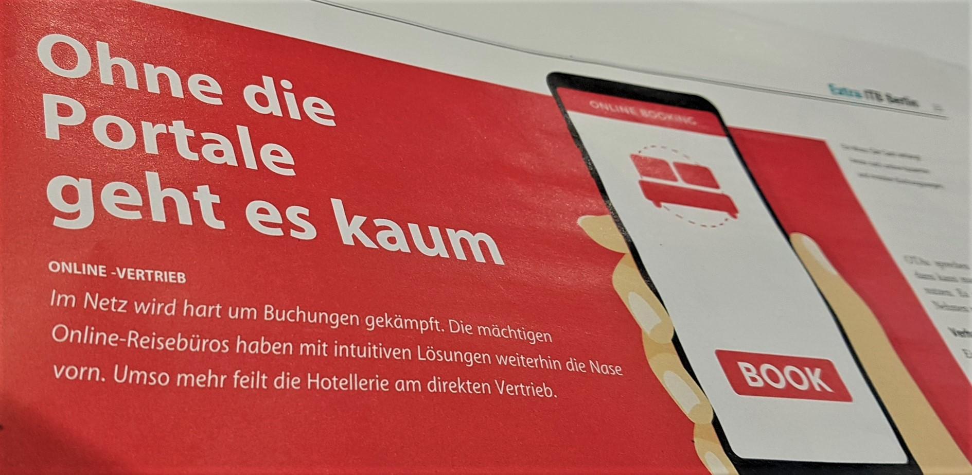 Allgemeine Hotel- und Gastronomie-Zeitung (AHGZ), Sonderausgabe zur ITB, März 2019 (Foto: eCoach.at)