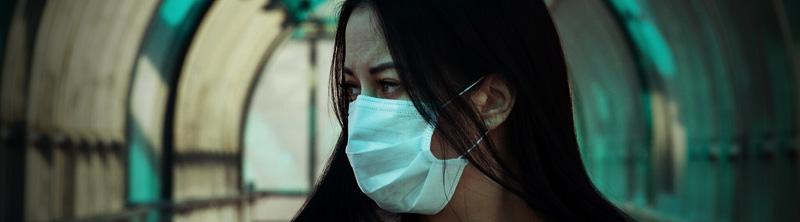 Corona im Alltag - Masken tragen